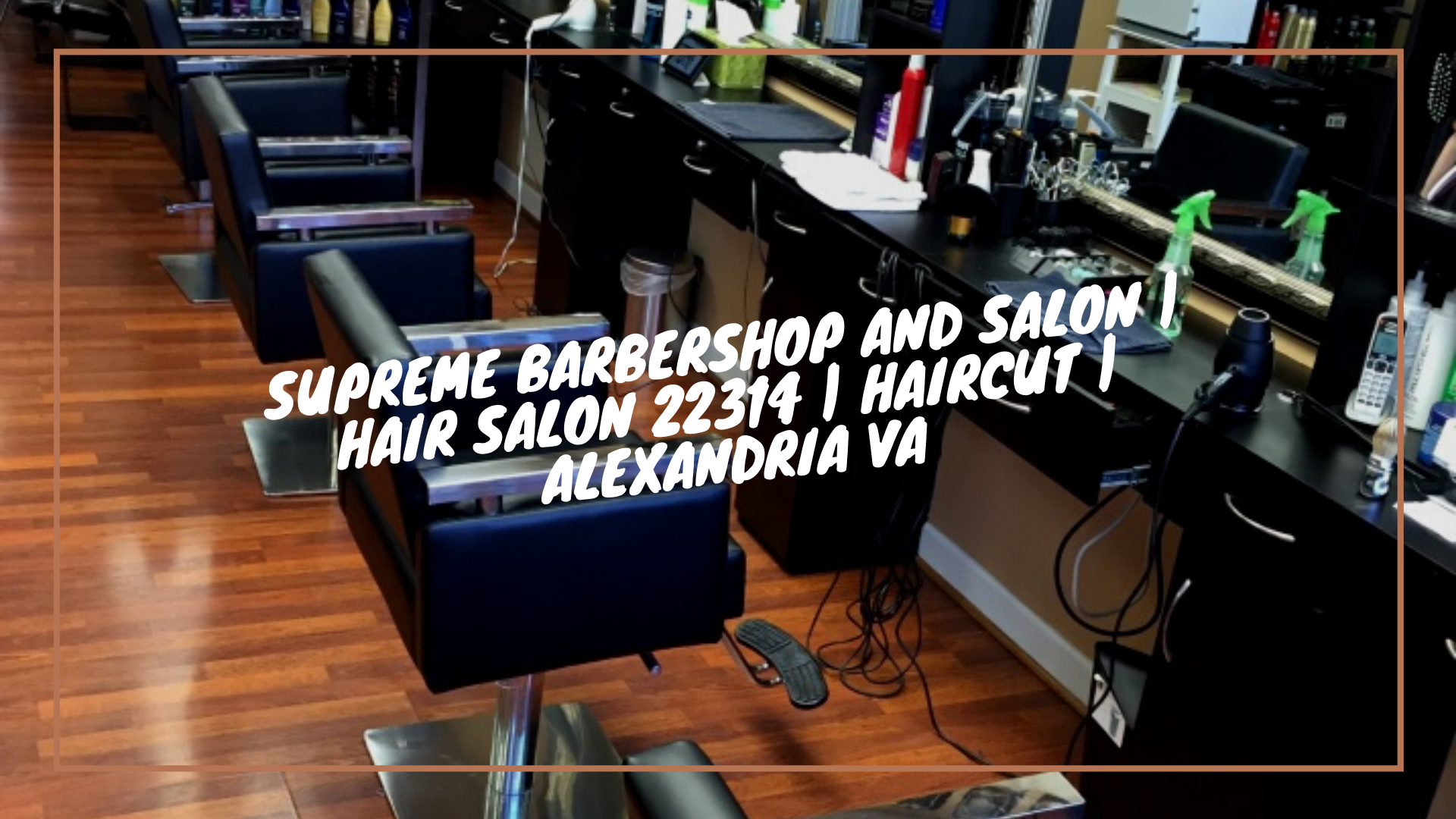 What a nice day to come to Supreme Barbershop and Salon | Hair salon 22314 | Haircut